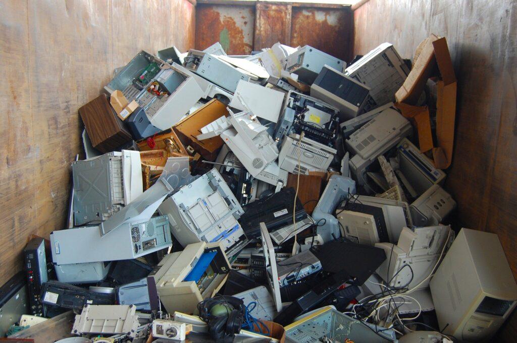 RSE recyclages dechets informatiques IT