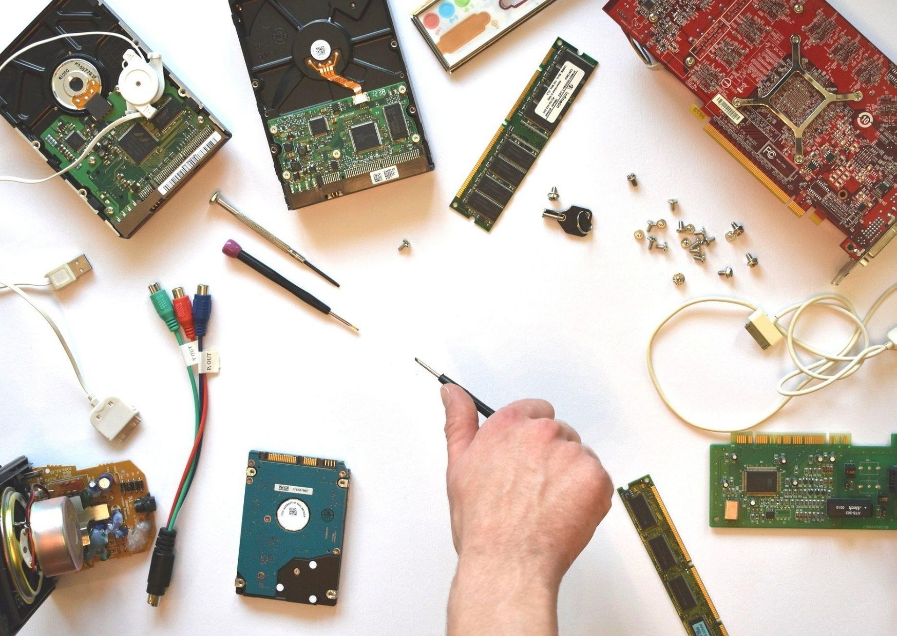 Pénurie de composants informatiques